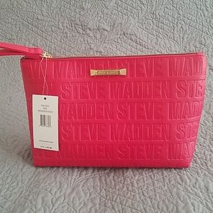 NWT- Steve Madden Weekend Pouch- Red